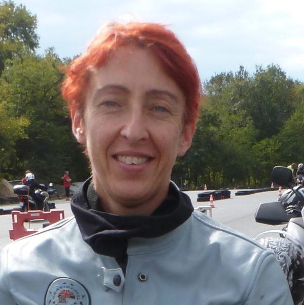 Dominique T (Lacouronne ) Suzuki Bandit 600 bleu