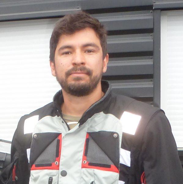 Sergio GONZALEZ, BMW R 1200 GS grise