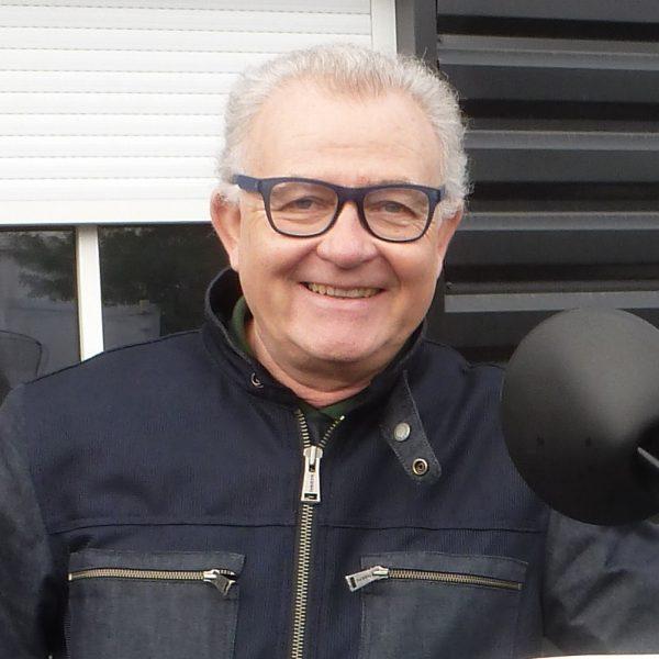 François GUILLOT ( Lapinou33); Honda Transalp XLV 600 noire et grise